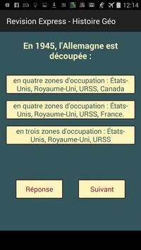 Révision Bac S Histoire QCM screenshot 3