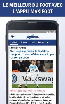 Mercato foot par Maxifoot capture d'écran 1