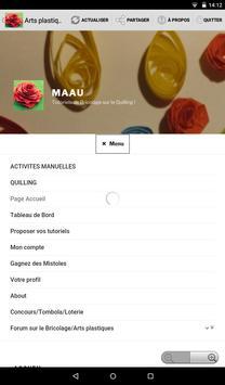 Arts Plastiques- Activités manuelles apk screenshot