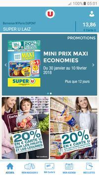 Mon Magasin U : Promos et CARTE U poster