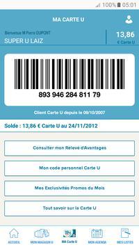 Mon Magasin U : Promos et CARTE U screenshot 2