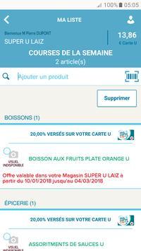 Mon Magasin U : Promos et CARTE U screenshot 4