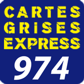 Carte grise express 974 icon