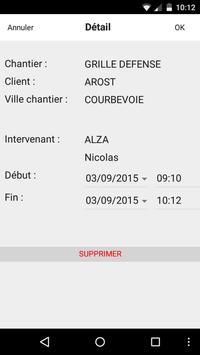 JardiSoft Suivi de Chantier apk screenshot