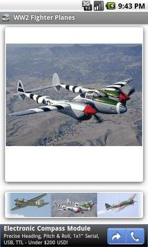 WW2 Fighter Planes poster