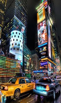 New York Blur Effect LWP Free poster