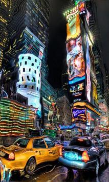 New York Blur Effect LWP Free screenshot 1