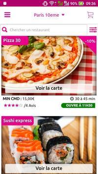Multiresto – Livraison de repas chez vous apk screenshot