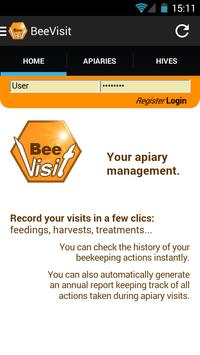 BeeVisit poster