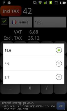 VAT Calculator apk screenshot
