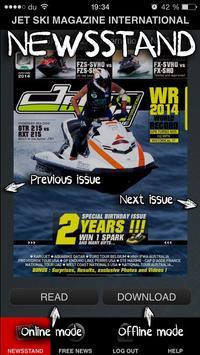 Jet Ski Mag INTL poster