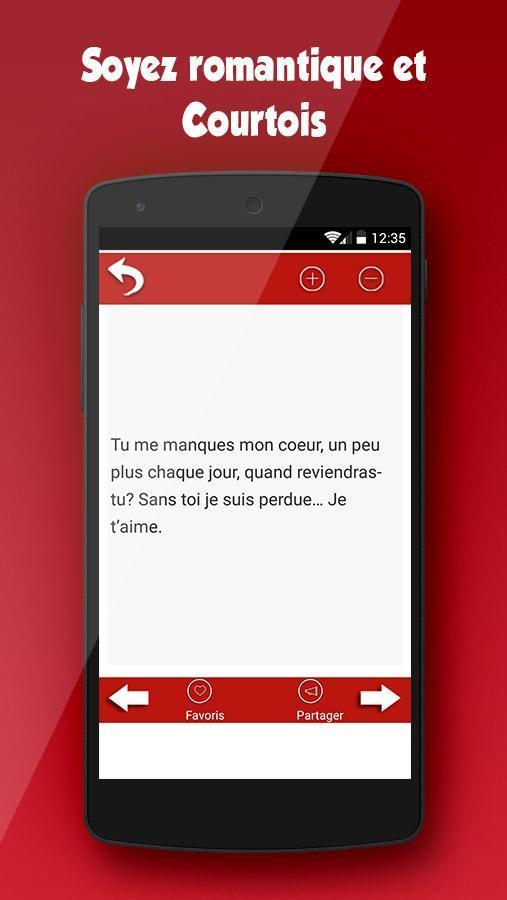 Sms Damour Drague Et Séduction For Android Apk Download