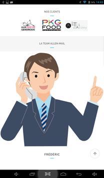Allen-Mail SAS apk screenshot