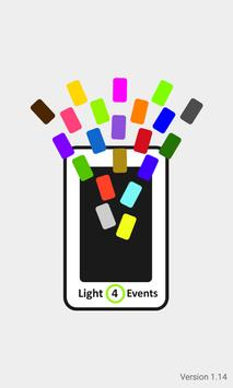 Light4Events poster