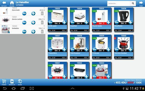 Open Order Prise de commande screenshot 3