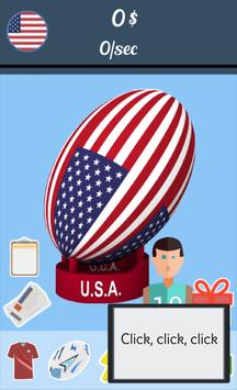 Rugby World Cup Clicker poster