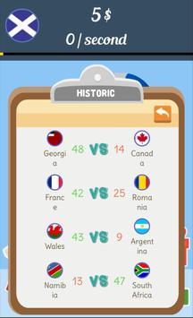 Rugby World Cup Clicker apk screenshot