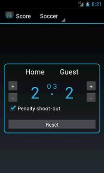Scoreboard screenshot 1