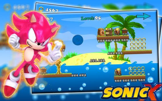 Super speed Sonic adventure poster
