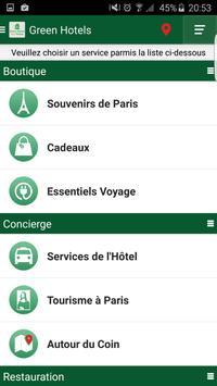 Green Hotels Fleury apk screenshot
