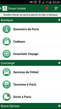 Green Hotels Roissy apk screenshot