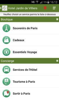 Hotel Jardin de Villiers apk screenshot