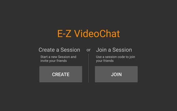 E-Z VideoChat poster