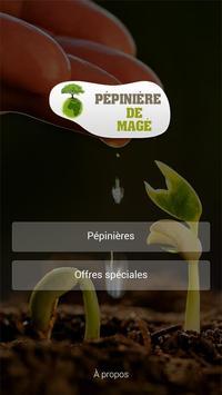 Pépinière de Mage poster