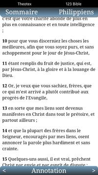 Bible Annotée et Darby apk screenshot