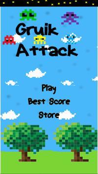 Gruik Attack poster