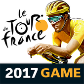Tour de France-Cyclings stars. Official game 2017 icon