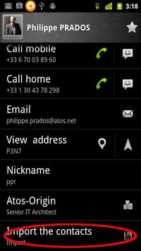 Contacts in line screenshot 3