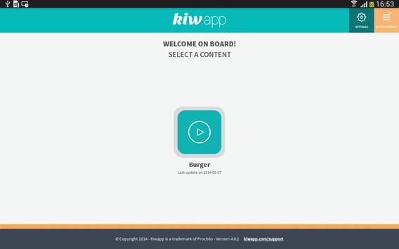 Kiwapp Retail apk screenshot