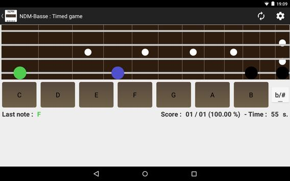 NDM - Bass (Learning to read musical notation) apk screenshot