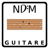 NDM - Guitar (Learning to read musical notation) icon