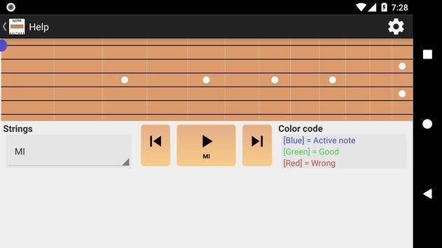 NDM - Guitar (Learning to read musical notation) screenshot 4