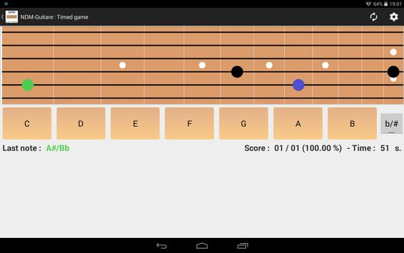 NDM - Guitar (Learning to read musical notation) apk screenshot