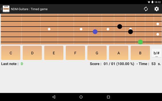 NDM - Guitar (Learning to read musical notation) screenshot 8