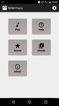 NDM - Piano (Learning to read musical notation) apk screenshot