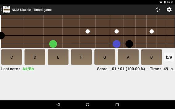 NDM - Ukulele (Learning to read musical notation) screenshot 8