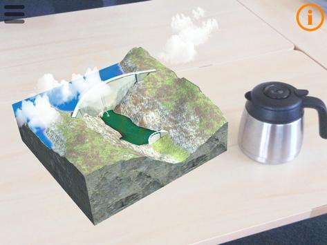 Le barrage de Bimont en 3D apk screenshot