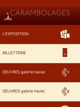 Carambolages, l'exposition apk screenshot