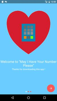 May I Have Your Number Please apk screenshot