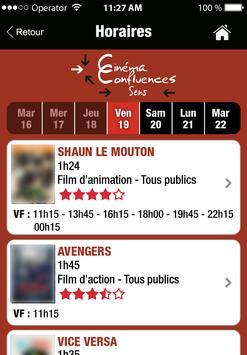 Cinéma Confluences apk screenshot