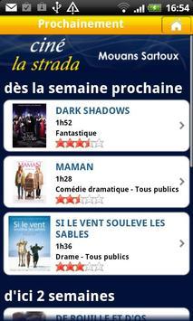 Ciné La Strada Mouans Sartou apk screenshot