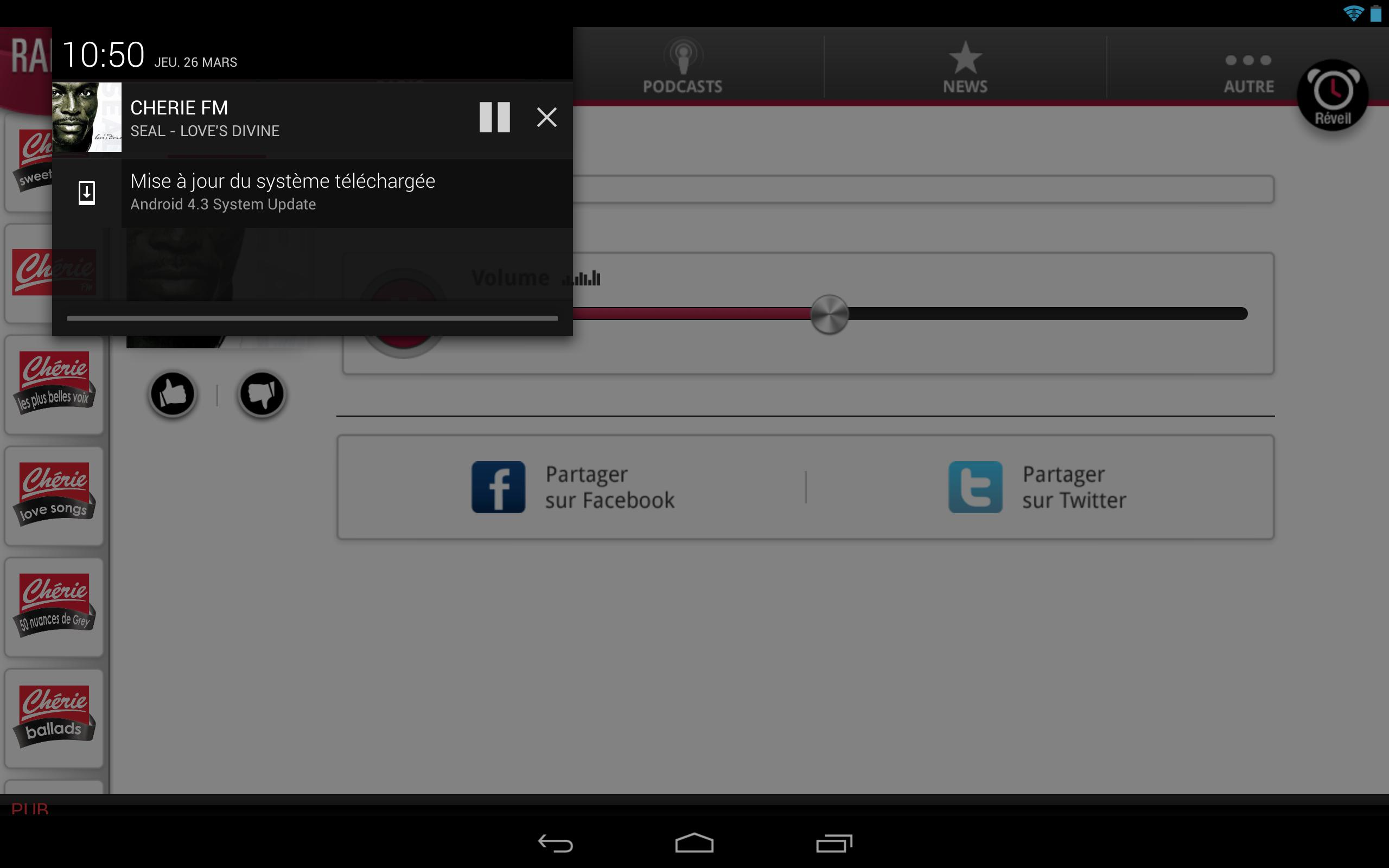 Chérie FM for Android - APK Download