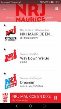 NRJ Maurice screenshot 1