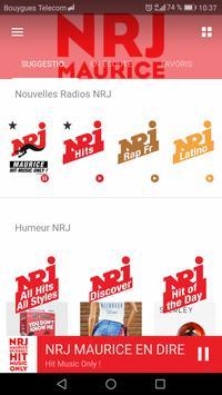 NRJ Maurice screenshot 2