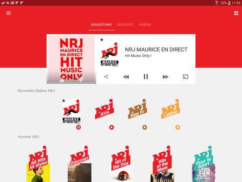 NRJ Maurice screenshot 5