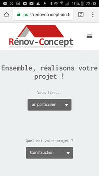 Renov Concept Bâtiment screenshot 1